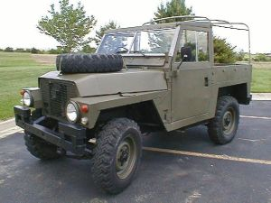 Lightweight Land Rover