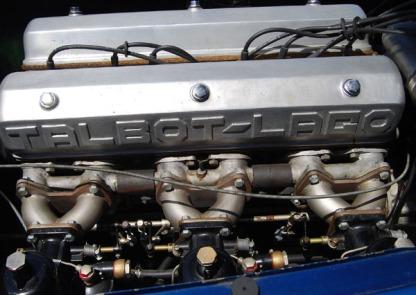 Talbot 6 Cylinder