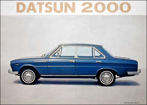1967 Datsun 2000 side