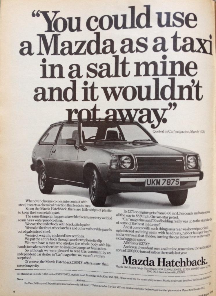 1973 Mazda 1300 DL