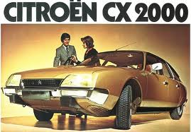 1974 Citroen CX brochure image