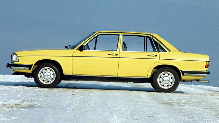 Still fresh after all these years - Audi 100