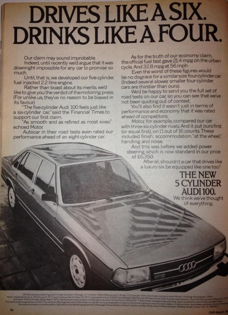 1978 Audi 100 2.2.