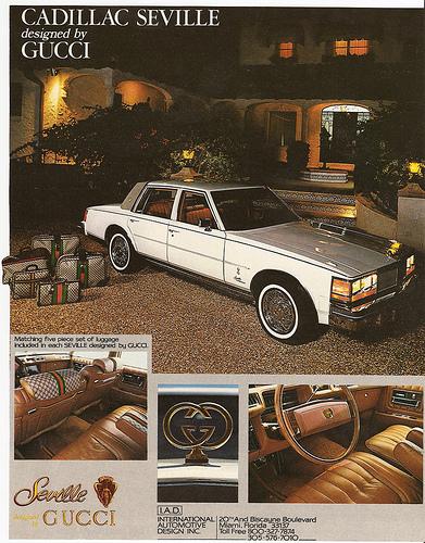 1979 Cadiilac Seville Gucci edition