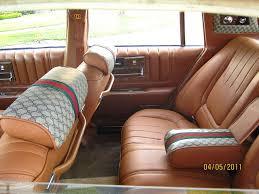 1979 Gucci-edition Cadillac Seville interior