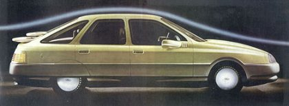 1981 Ford Probe III: done after the 1982 Ford Sierra.
