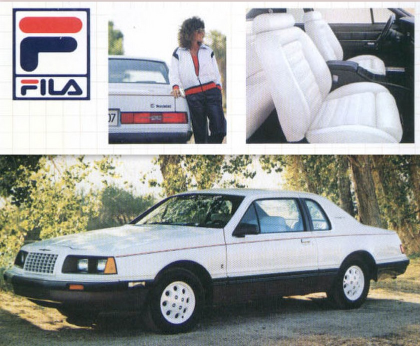 1985 Ford Thunderbird Fila edition