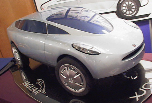 2000 concept car by Andrew Moore at Coventry University