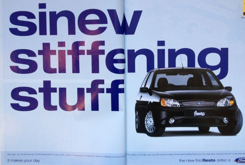 2000 Ford Fiesta Zetec S