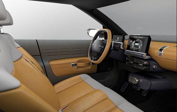 Citroen C-Cactus concept interior