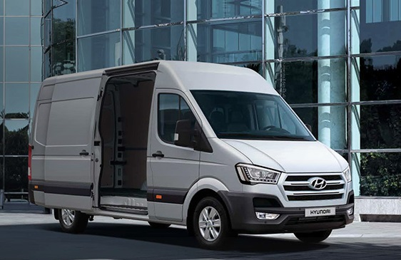 This is not included in my calculations. It´s the latest thing from Hyundai, the H350 van.