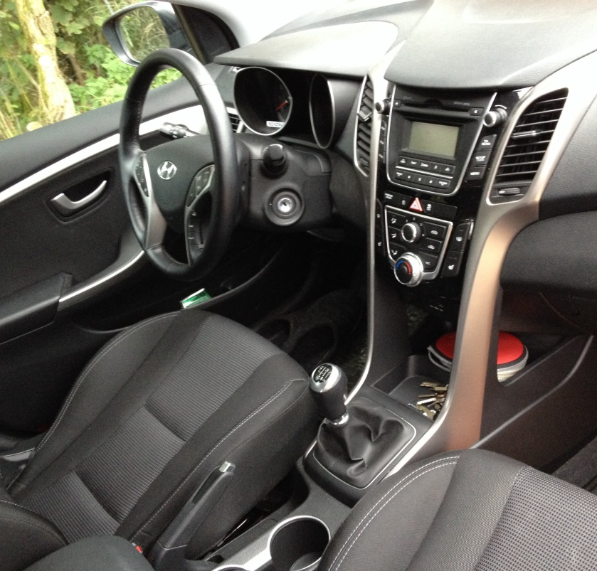 2014 Hyundai i30 dashboard. Nearly more than just quite good.