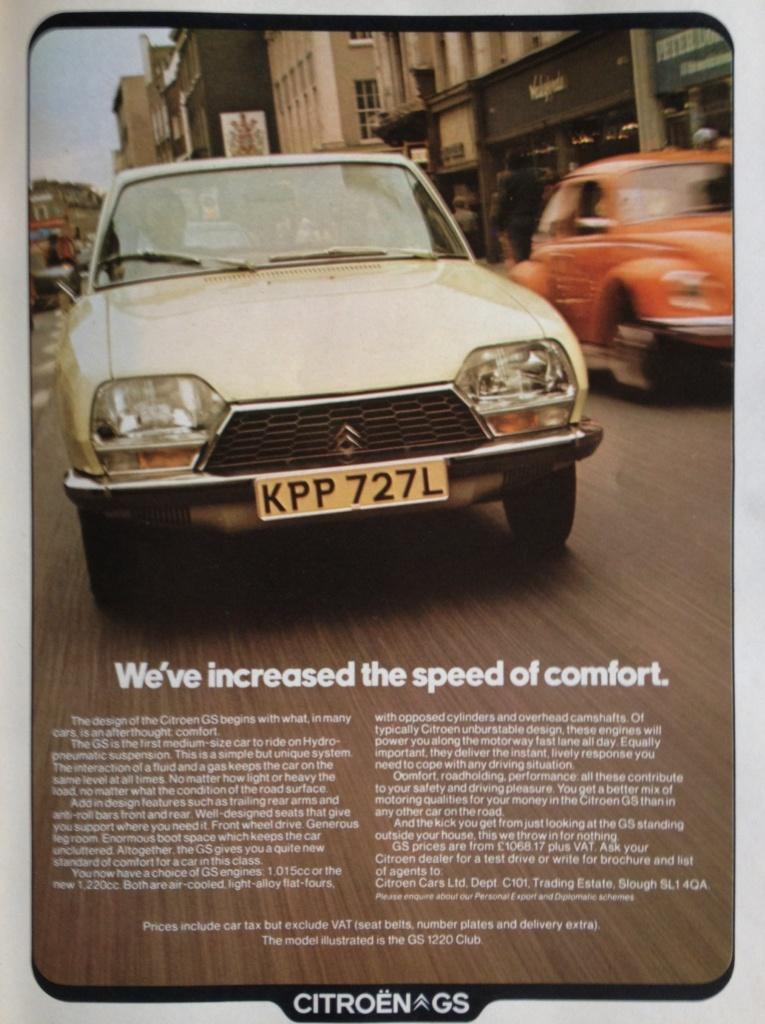 1973 Citroen GS - £1068.
