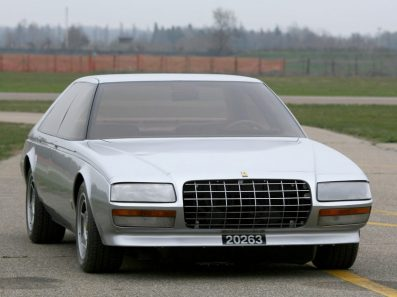 1980 Ferrari Pinin: Cadillac meets Ferrari? Did this influence the Aston Martin Vantage? (c) oldconceptcars