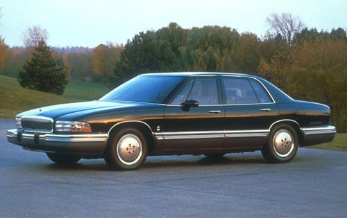 1991 Buick Park Avenue: note the wraparound glass