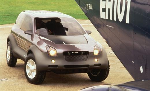 1993 Isuzu Vehicross concept