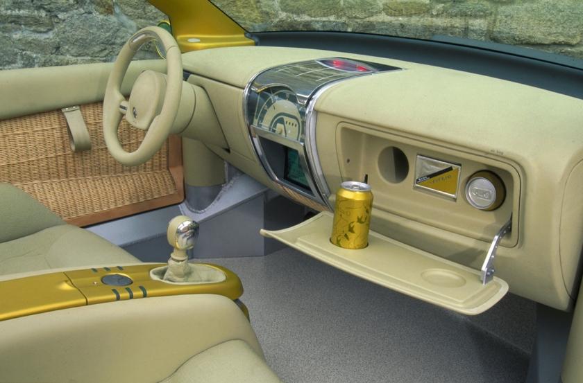 1996 Renault Fiftie concept interior