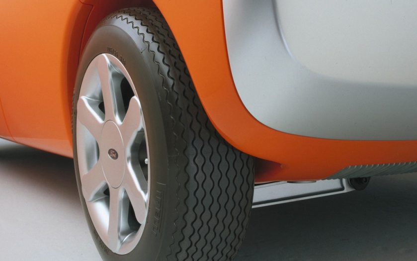 Detail: 1999 Ford 021C concept by Marc Newson