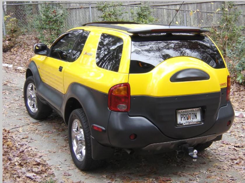 1999 Isuzu Vehicross rear