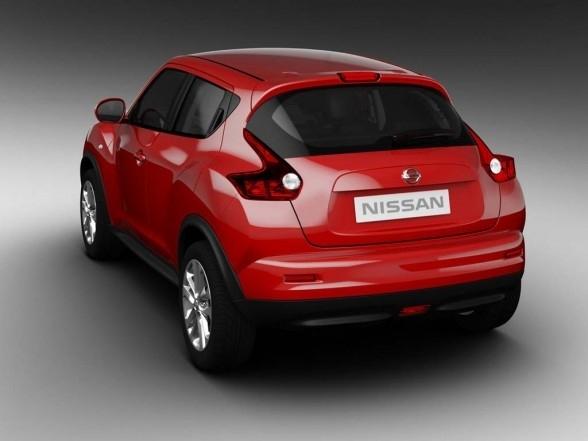 2011 Nissan Juke rear