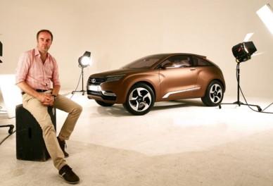 Steve Mattin and the 2012 Lada X-Ray