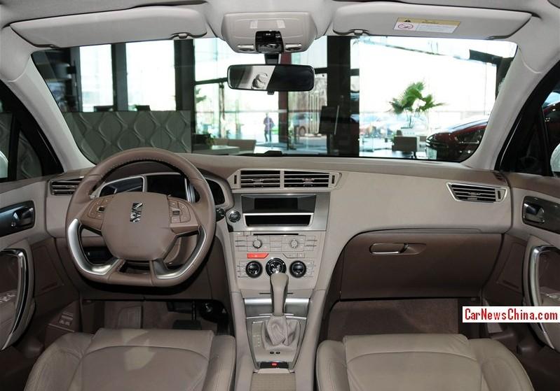 2013 DS5 LS interior