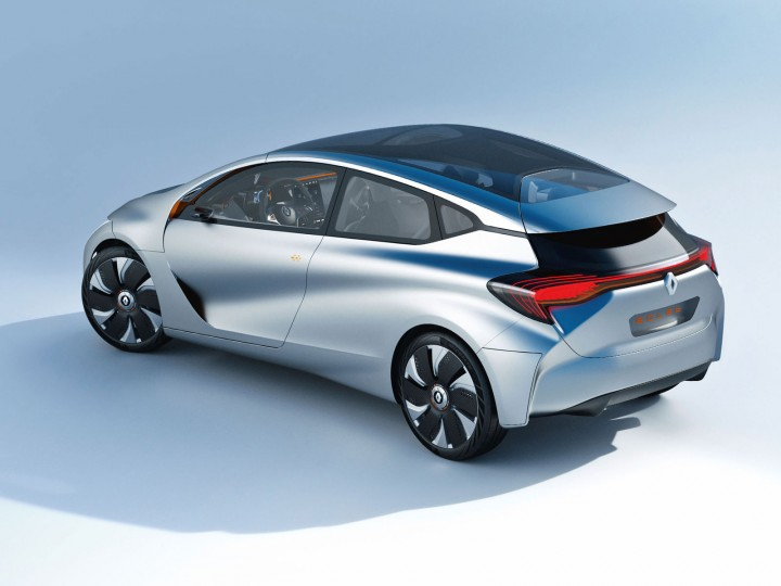 2014 Renault EOLAB concept. Compare with the DS5 below.