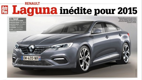2015 Renault Laguna or Initiale or Safrane or something