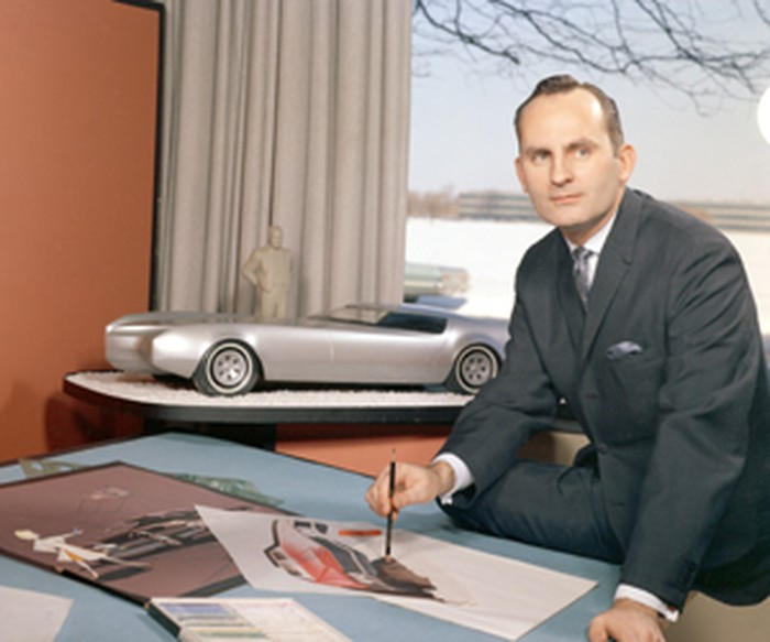 GM designer Chuck Jordan