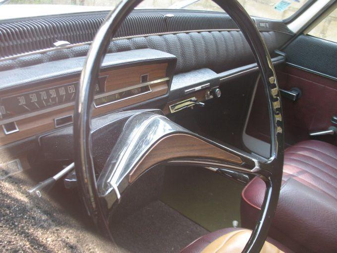 1965 Renault 16 interior