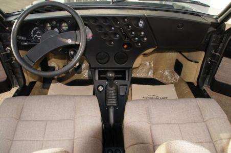 1984 Lancia Trevi dashboard