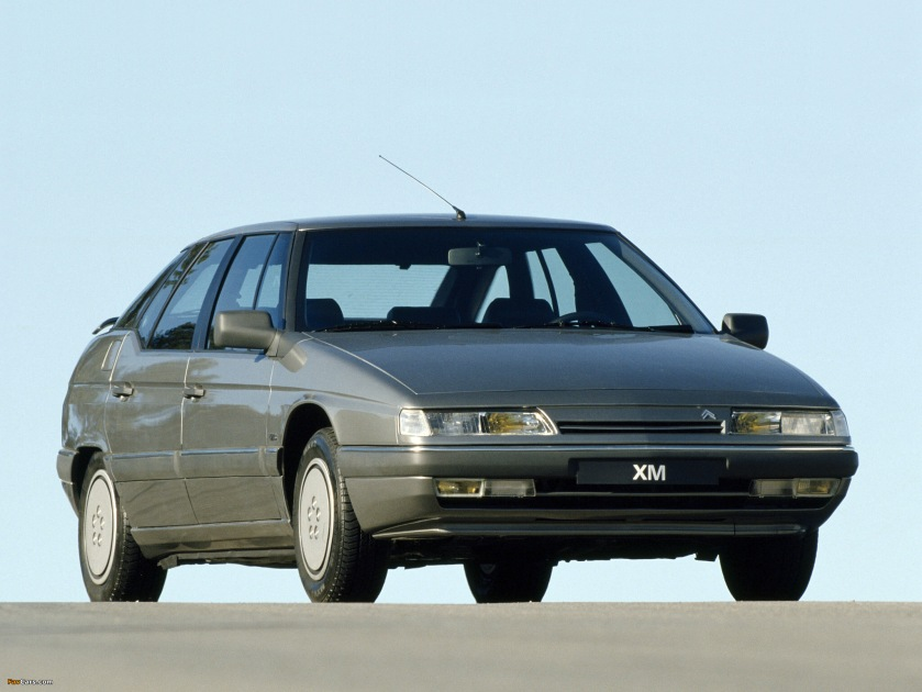1989 citroen XM front three quarter grey