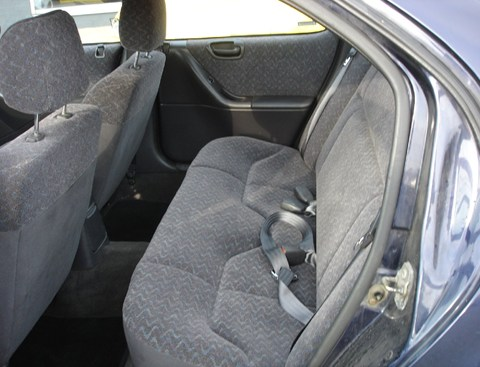 1998 Chrysler Stratus rear interior