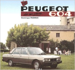 2000 Peugeot 604 book cover