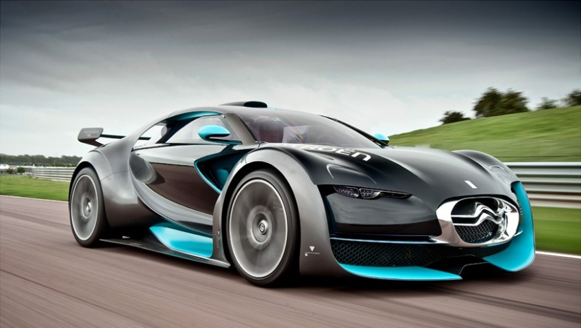 One of Narayan´s reference cars, the 2010 Citroen Survolt.