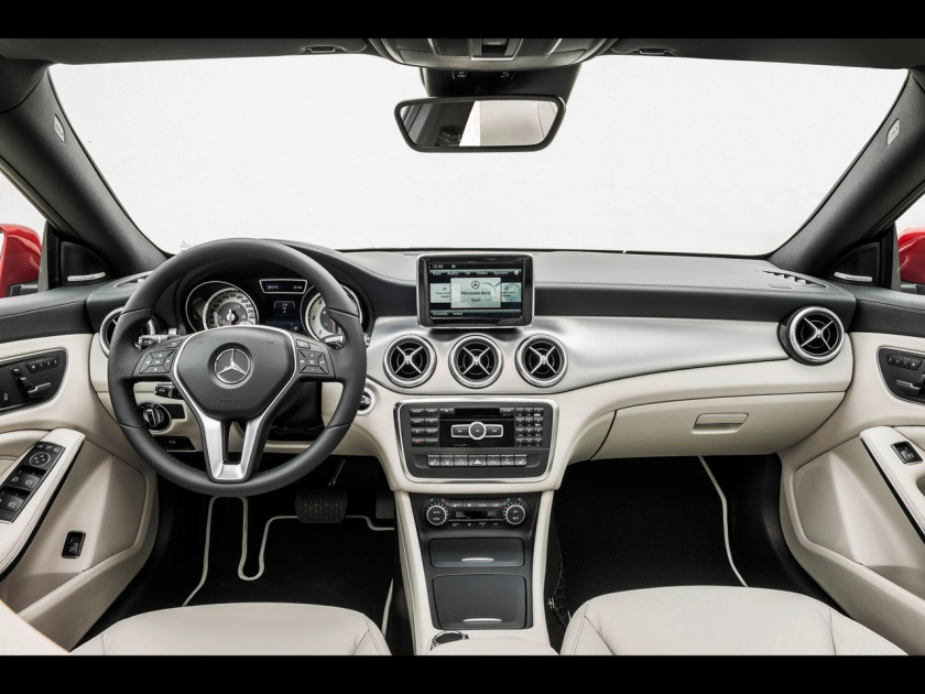Another Mercedes saloon interior