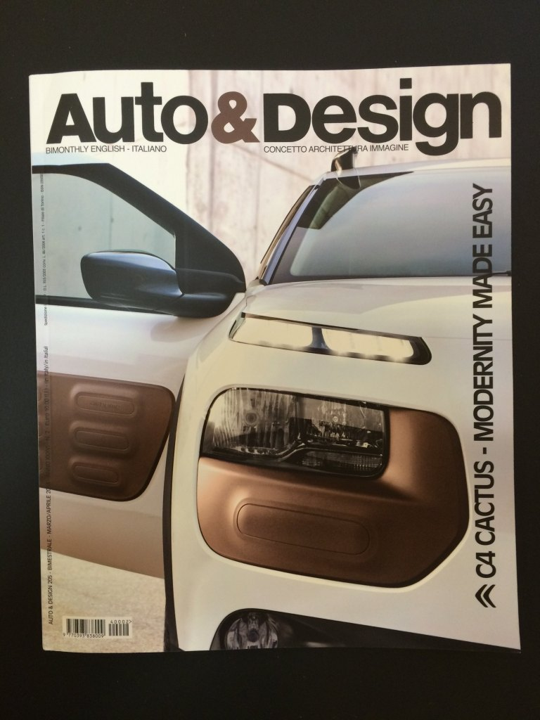 Auto & Design: as glossy as the cars illustrated within.