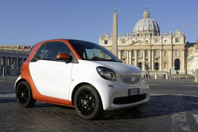 As shown in Auto & Design: the new Smart ForTwo