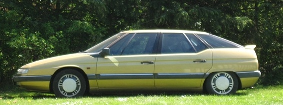1989 Citroen XM (example shown is the 1990 model).