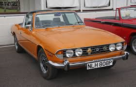 40 years old this year: the Triumph Stag.