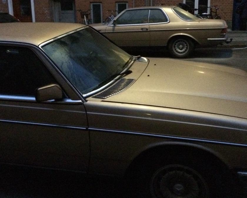 1984 Mercedes duo
