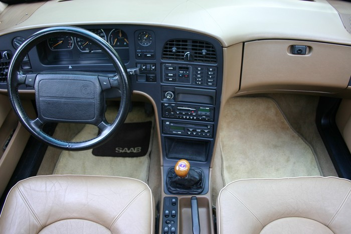 1986 Saab 9000 interior. Timeless industrial design.