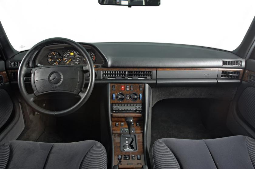 1991 Mercedes S-Class: timelessly timeless.