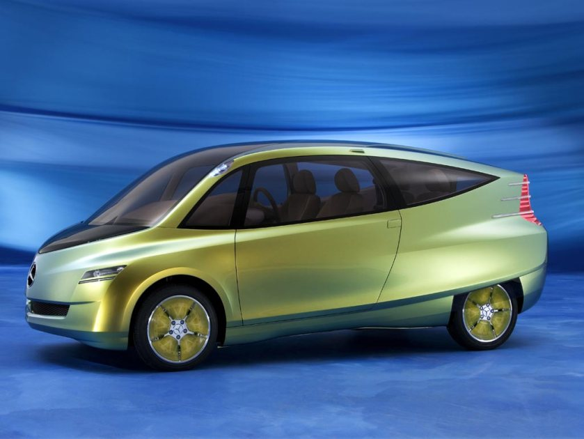 2005 Mercedes Bionic concept car. Nicely surfaced.