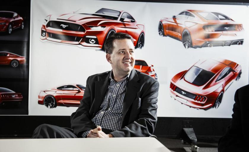 Joel Pieskowski, Ford´s new design chief in Europe.