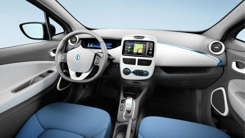 Among the 75% of smaller cars that make up Renault´s UK sales, is the Zoe.