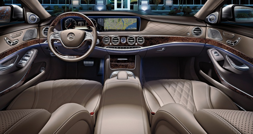 World of chintz - S-Class interior