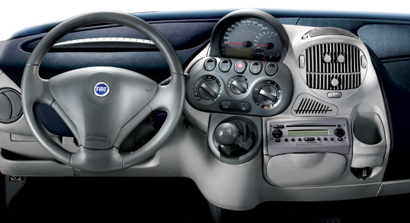 Theme dashboards the fiat multipla driven to write for Interieur fiat multipla