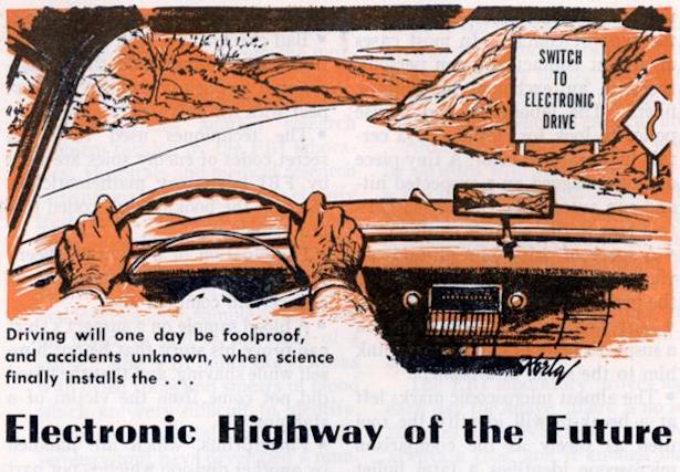 1958 driverless car