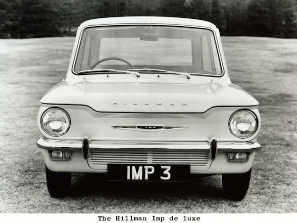 1963 Hillman Imp: not to be grilled.